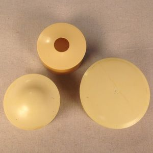 Other - ⭐️Modern Set of 3 Antique Ivory Celluloid Boxes